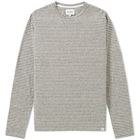 Norse Projects Long Sleeve Niels Stripe Tee Neutrals