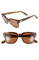Electric Eyewear Women's Electric '40Five' 50Mm Retro Sunglasses Tortoise Bronze