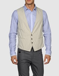 Mauro Grifoni Suits And Jackets Waistcoats Men Light Grey