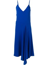 P.A.R.O.S.H. Slip Dress Blue