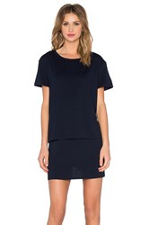 Evil Twin Whiskey River T Shirt Dress Navy