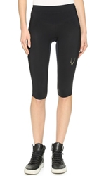Lucas Hugh Core Performance Capri Leggings Black