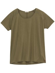 Lee Oversized T Shirt Army Green
