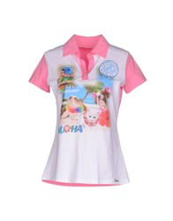 Ean 13 Topwear Polo Shirts Women White