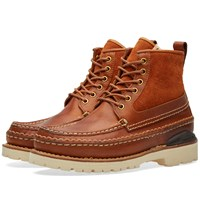 Visvim Grizzly Boots Mid Folk Brown