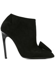 Alain Tondowsky Stiletto Ankle Boots Black