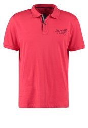 Tom Tailor Regular Fit Polo Shirt Sun Bleached Red