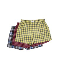 Tommy Hilfiger Cotton Woven Boxer 3 Pack Multi Men's Underwear