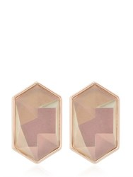 Nocturne Lygia Rose Gold Plated Earrings