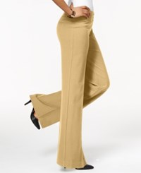 Styleandco. Style And Co. Stretch Wide Leg Pants Sandstorm
