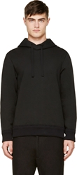 Tillmann Lauterbach Black Midnight Blue Hooded Sweatshirt