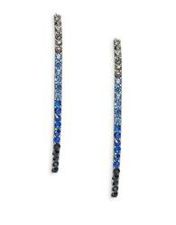Catherine Stein Gradient Threader Earrings Blue