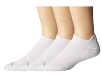 Smartwool Phd Run Ultra Light Micro 3 Pair Pack White Men's Crew Cut Socks Shoes