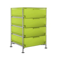Kartell Mobil 4 Drawer Citron Yellow