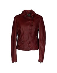 Muubaa Coats And Jackets Jackets Women Brick Red