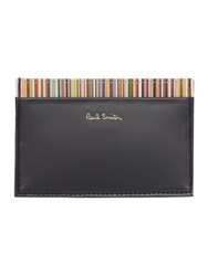 Paul Smith London Coin Pocket Inter Multistripe Wallet Black