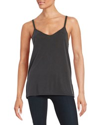 Splendid Criss Cross Tank Black