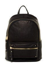 L.A.M.B. Iban Leather Backpack Black
