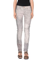 Isabel Marant Denim Denim Trousers Women Light Grey