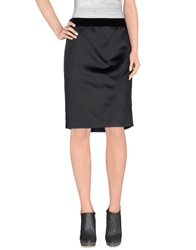Aquilano Rimondi Knee Length Skirts Black