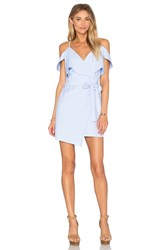 Lucca Couture X Revolve Wrap Dress Blue