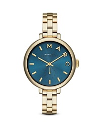 Marc By Marc Jacobs Sally Watch 36Mm Gold Blue Dial