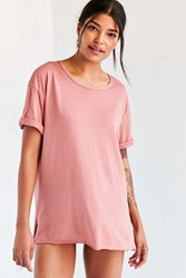 Silence And Noise Odin Tee Pink
