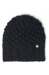 Lole Women's Popcorn Knit Beanie Black