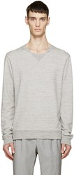 Maison Martin Margiela Grey French Terry Pullover