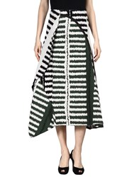 Marni Long Skirts Green
