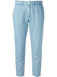 Levi's Made And Crafted Cropped Slim Fit Jeans Blue