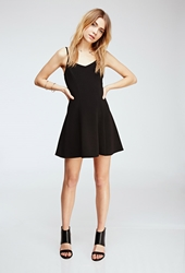Forever 21 Ribbed Fit And Flare Dress