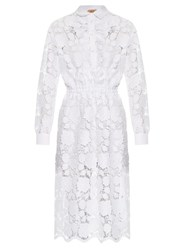 N 21 Floral Lace Shirtdress White