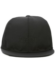 Givenchy Embroidered Logo Cap Black