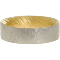 Gold And Silver Two Tone Band