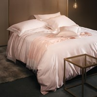 La Perla Venere Duvet Cover Super King Soft Pink