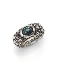 King Baby Studio Sterling Silver And Turquoise Ring