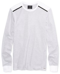 Guess Men's Mason Mesh Shirt White