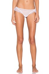 Only Hearts Club Coucou Lola Ruffle Thong White