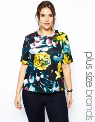 Alice And You Scuba Printed Tee Multi