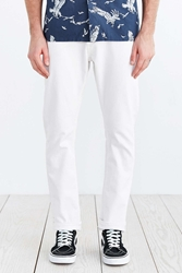 Obey New Threat White Denim Skinny Jean
