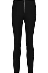 Rag And Bone Perry Stretch Cotton Blend Crepe Skinny Pants Black