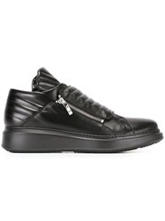 Cesare Paciotti Quilted Sneakers Black