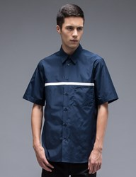 Marni S S Shirt With Chest Stripe