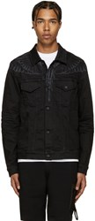Marcelo Burlon Black Canouan Jacket