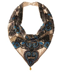 Mary Frances Morocco Jeweled Scarf Multi Scarves