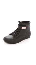 Hunter Original Rubber High Top Sneakers