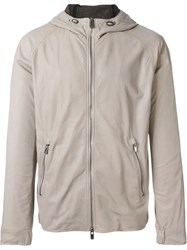 Drome Hooded Jacket Nude And Neutrals