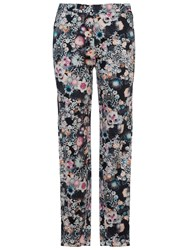 French Connection Isola Bloom Cropped Trousers Black