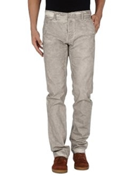 Care Label Casual Pants Grey